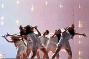 Ell und Nikki gewinnen für Aserbaidschan den ESC 2011 (c) EBU
