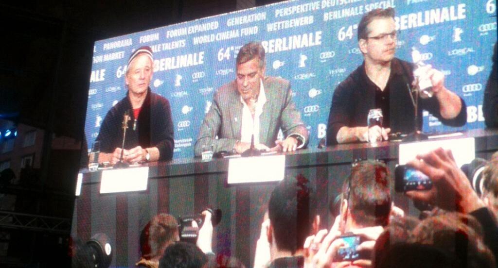 """O! zarte Sehnsucht, süßes Hoffen"" – George Clooney weiht die Berlinale 2014"
